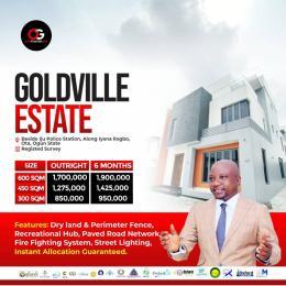 Residential Land Land for sale Beside iju police station along iyana ilogbo, fenced with gate house, With registered Survey Ota GRA Ado Odo/Ota Ogun