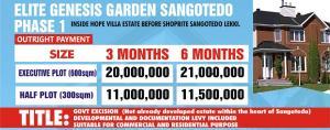 Commercial Land Land for sale Inside Hope Ville Estate Sangotedo Lekki Majek Sangotedo Lagos