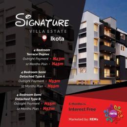 4 bedroom Semi Detached Bungalow House for sale Ikota villas Ikota Lekki Lagos
