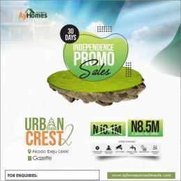 Mixed   Use Land for sale Urban Crest 2 Akodo Free Trade Zone Ibeju-Lekki Lagos