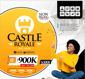 Mixed   Use Land for sale Castle Royale Estate Epe Lagos