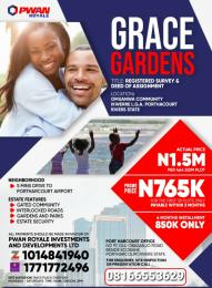 Mixed   Use Land Land for sale Omuanwa community, ikwere local government area Rivers state  Port Harcourt Rivers