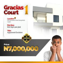 Residential Land Land for sale Behind the biggest mall(shoprite) off Monastery road, Sangotedo Ibeju-Lekki Lagos