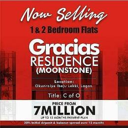 1 bedroom mini flat  Flat / Apartment for sale Okunraiye Ibeju-Lekki Lagos