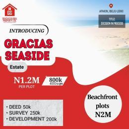 Residential Land Land for sale Gracias Seaside Estate Free Trade Zone Ibeju-Lekki Lagos
