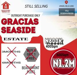 Residential Land Land for sale Apakin Lekki free trade zone Ibeju-Lekki Lagos