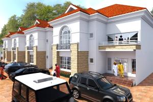 4 bedroom Terraced Duplex House for sale By the Kubwa FHA Bridge Karsana Abuja