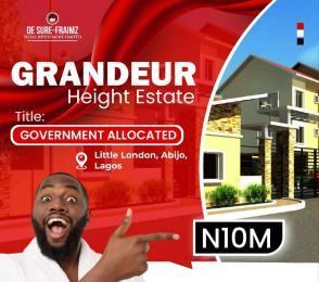 Residential Land Land for sale Abijo town, 1 minute drive from Lekki Epe Expressway. Abijo Ajah Lagos