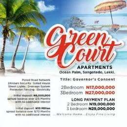 2 bedroom Flat / Apartment for sale Inside Ocean Palm Estate, Just Some Minutes Away From Blenco Supermarket, Sangotedo Ajah Lagos. Sangotedo Ajah Lagos