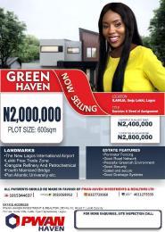 Residential Land for sale Green Haven Estate, Ilamija Ibeju-Lekki Lagos