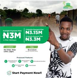 Residential Land Land for sale Iba Oloja Free Trade Zone Ibeju-Lekki Lagos