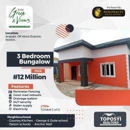 3 bedroom Studio Apartment Flat / Apartment for sale Arapaja, Off Akala Express, Ibadan     Country Kitchen -George & Duke school - Dalom schools - Anchor Mall Akala Express Ibadan Oyo
