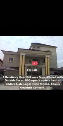 10 bedroom Hotel/Guest House Commercial Property for sale Badore Ajah Lagos