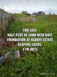 Land for sale Alapere Kosofe/Ikosi Lagos