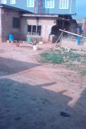 1 bedroom mini flat  Mixed   Use Land Land for sale modupe round about..... Oke-Ira Ogba Lagos