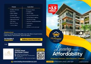 1 bedroom Studio Apartment for sale Novarre Mall, Sky Mall, Lagos Monastery, Lufasi Resort, Peace Estate, Blenco Supermarket Monastery road Sangotedo Lagos