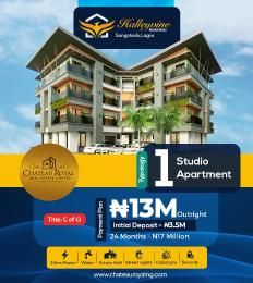 1 bedroom Blocks of Flats for sale 1bedroom Studio Apartment Monastery road Sangotedo Lagos