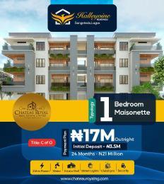 1 bedroom mini flat  Massionette House for sale Halleyvine Residence Monastery road Sangotedo Lagos