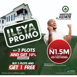 Residential Land Land for sale Mowe Ofada Arepo Ogun