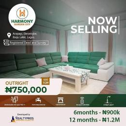 Residential Land for sale Harmony Garden City, Arapagi, Eleranigbe Ibeju-Lekki Lagos