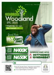 Industrial Land Land for sale Odogbawojo, Epe Lagos Epe Road Epe Lagos