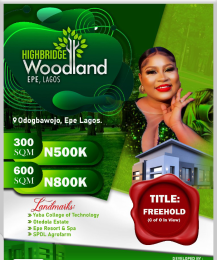 Residential Land for sale Odogbawojo Epe Lagos