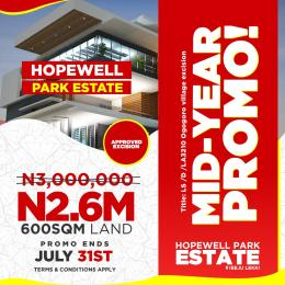 Residential Land Land for sale Located After The Multi Billion Dollar Dangote refinery and Some minute to La Campagne tropicana resort. Free Trade Zone Ibeju-Lekki Lagos