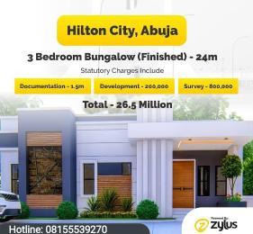 3 bedroom Detached Bungalow for sale Kurudu Abuja