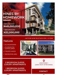2 bedroom Shared Apartment Flat / Apartment for sale Kuboyi Lekki Phase 1 Lekki Lagos