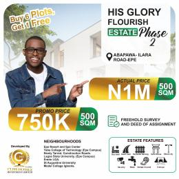 Residential Land for sale Epe Lagos