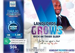 Mixed   Use Land Land for sale Along Airport road and Proposed Deep Sea Port, Oron Road.  Uyo Akwa Ibom