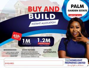 Serviced Residential Land Land for sale AIRPORT ROAD  Uyo Akwa Ibom