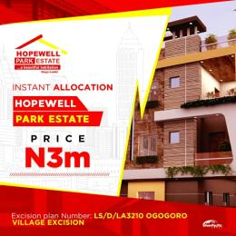 Residential Land Land for sale 3mins drive to lacamigne Tropicana also after dangote private jetty  Free Trade Zone Ibeju-Lekki Lagos