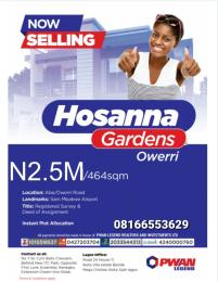 Mixed   Use Land Land for sale Aba owerri road Owerri Imo