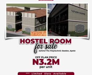 Hotel/Guest House Commercial Property for sale Behind the polytechnic Ibadan, apete Ido Oyo