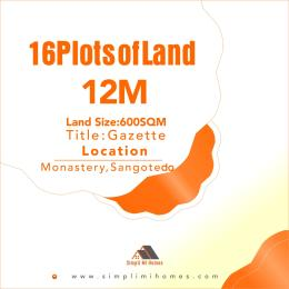 Residential Land for sale Off Monastery Road Behind Novare Mall Shoprite Ajah Lagos