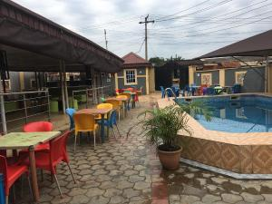 Hotel/Guest House Commercial Property for sale Akiaro area  Iju Lagos