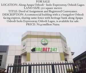 5 bedroom Commercial Property for sale Oshodi Apapa Isholo Way Osolo way Isolo Lagos