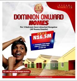 Detached Bungalow House for sale Dominion Onward Homes Bushorun Majek Opposite Fara Park Estate Lekki Lagos Abijo Ajah Lagos