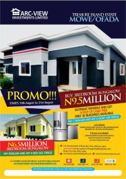 3 bedroom Blocks of Flats House for sale Treasure Island Estate  Ofada Obafemi Owode Ogun