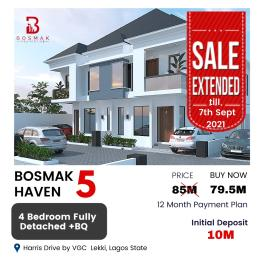 Detached Duplex for sale Bosmak Haven Harris Drive, Shapata By Vgc Epe Road Epe Lagos