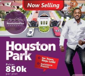 Residential Land Land for sale ISE-TOWN, IBEJU-LEKKI. Ise town Ibeju-Lekki Lagos