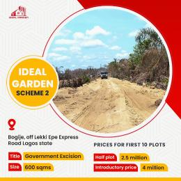 Commercial Land for sale Bogije Sangotedo Lagos