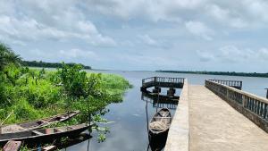 Residential Land Land for sale Hopewell Lagoonfront Estate, 4 minutes before La Campagne Tropicana Beach Resort  LaCampaigne Tropicana Ibeju-Lekki Lagos