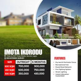 Residential Land Land for sale Imota Ikorodu Estate, close to NUT Coop Maya Ikorodu Lagos