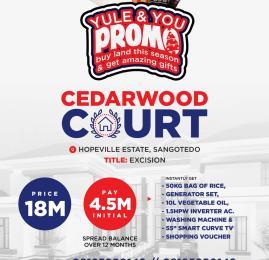 Residential Land Land for sale Sangotedo Ajah Lagos