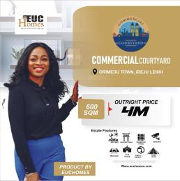 Commercial Land for sale Commercial Courtyard Orimedu Ibeju-Lekki Lagos