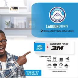 Residential Land for sale Lagoon Courts Eleko Ibeju-Lekki Lagos