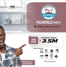 Serviced Residential Land for sale Palmsville Courts Free Trade Zone Ibeju-Lekki Lagos
