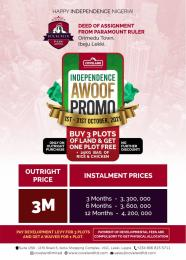 Mixed   Use Land for sale Rockcreek Park Orimedu Ibeju-Lekki Lagos
